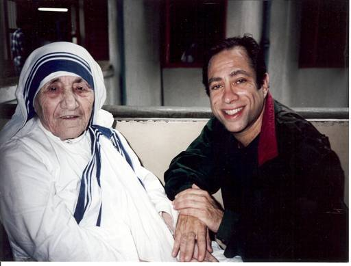 David with Mother Theresa